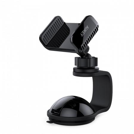 Aukey - Suport pentru telefon HD-C30, negru
