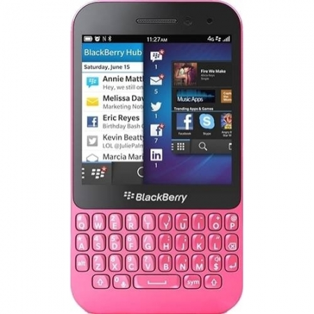 BLACKBERRY Q5 8GB 4G LTE PINK RS125033250-3