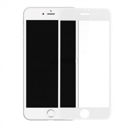 Benks Premium - Folie sticla securizata pentru iPhone 7, Full Body, 9H, 3D, 0.23 mm, Alb