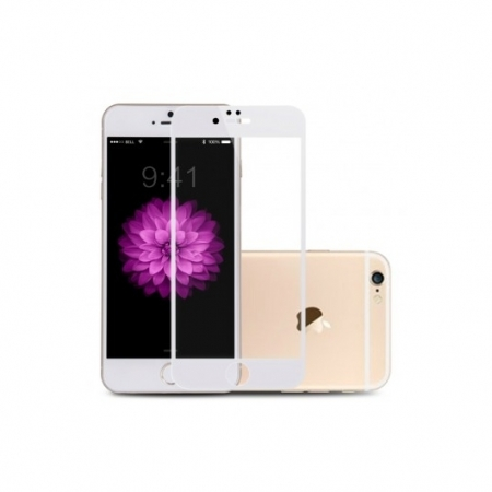 Benks Premium PRO - Folie sticla securizata pentru iPhone 6/ 6s, Full Body, 9H, 0.3 mm, Alb