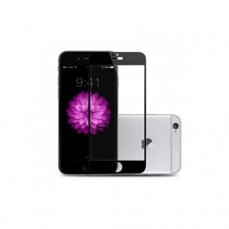 Benks Premium PRO - Folie sticla securizata pentru iPhone 6/ 6s, Full Body, 9H, 0.3 mm, Negru