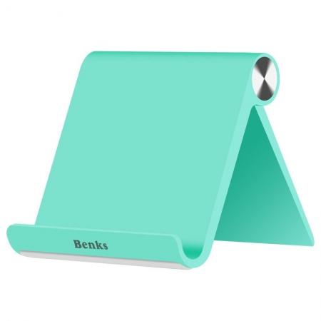 Benks - Suport de birou pentru telefoane si tablete, Verde