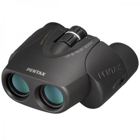 Binoclu Pentax UP 8-16x21 - negru