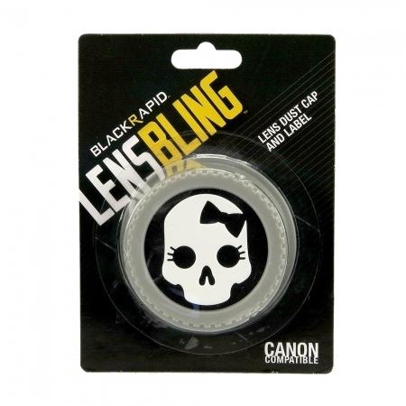 BlackRapid LensBling  Skull Bow - capac obiectiv Canon