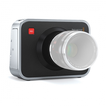 Blackmagic Cinema Camera 2.5K - camera video profesionala, montura Canon EF