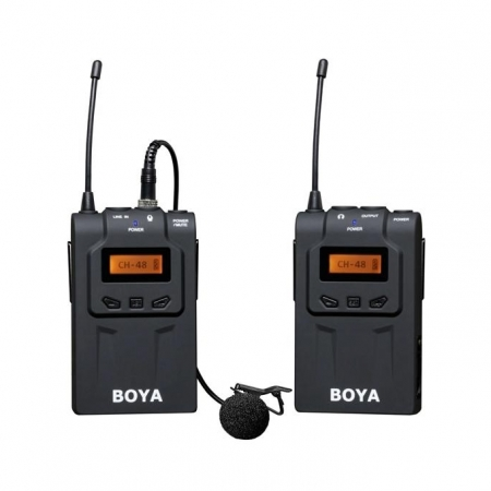 Boya BY-WM6 UHF - Kit microfon wireless