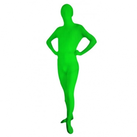 Bresser Chromakey Full Body Suit, L, verde