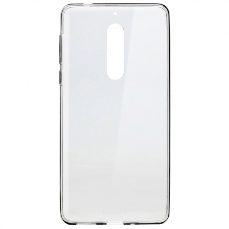 CC-102 - Husa capac spate pentru Nokia 5, transparent