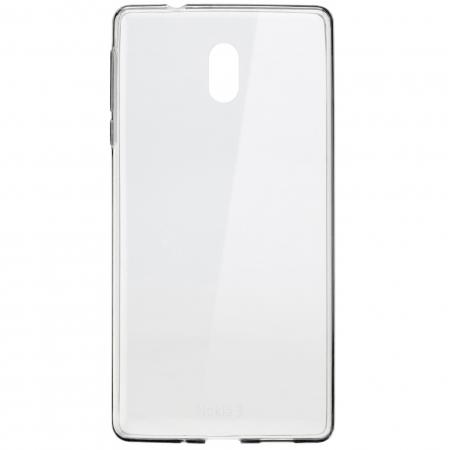 CC-103 - Husa capac spate pentru Nokia 3, transparent