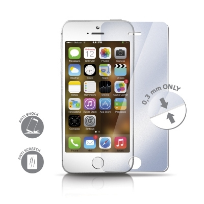 CELLY GLASSIP5 - folie de protectie din sticla securizata pentru iPhone 5/5s