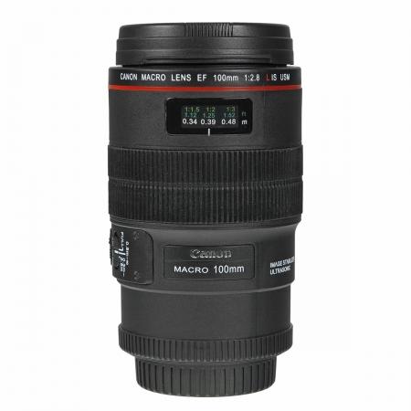 Cana obiectiv Canon 100mm f/2.8L - 350ml, interior inox, DC063