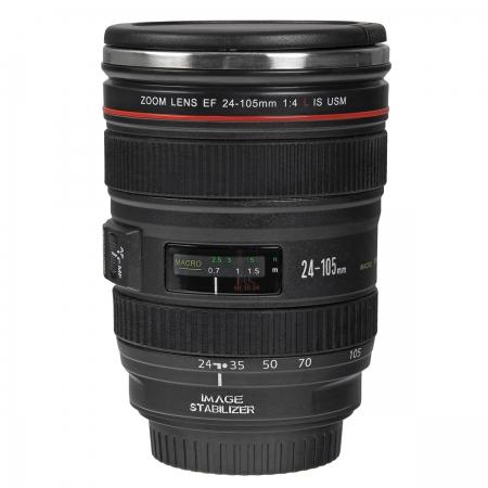 Cana obiectiv Canon 24-105mm f/4L IS USM Black - termoizolanta