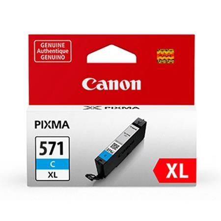 Canon CLI-571XLC (11ml) - Pixma MG5750, MG6850, MG7750 - cyan