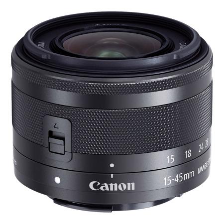 Canon EF-M 15-45mm f/3.5-6.3 IS STM, negru [white box]
