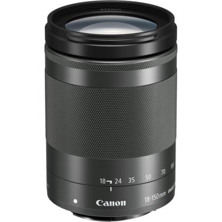 Canon EF-M 18-150mm F3.5-6.3 IS STM, Negru