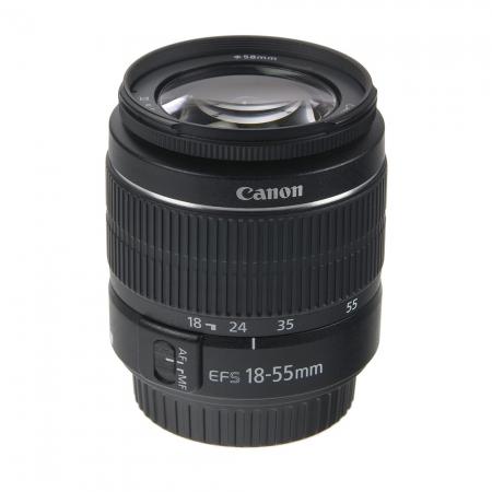Canon EF-S 18-55mm f/3.5-5.6 (fara stabilizare)