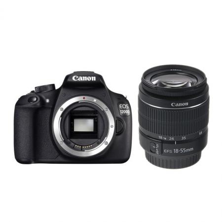 Canon EOS 1200D + EF-S 18-55mm f/3.5-5.6 DC fara stabilizare -  RS125011569