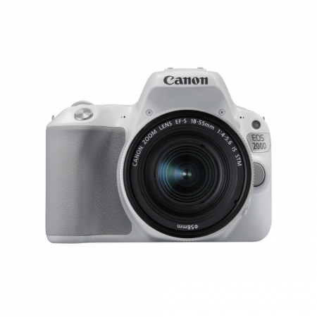 Canon EOS 200D kit EF-S 18-55mm f/3.5-5.6 IS STM, Alb