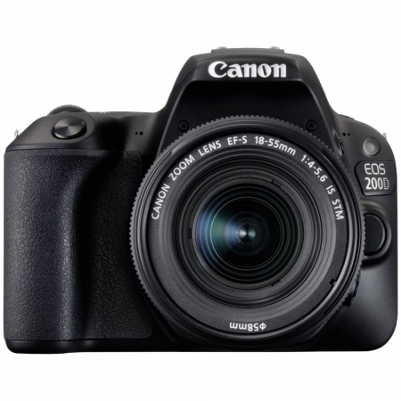 Canon EOS 200D kit EF-S 18-55mm f/4-5.6 IS STM