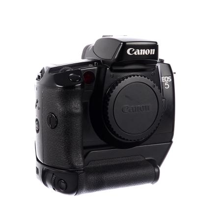 Canon EOS 5 body + Grip Canon VG 10 SLR film  - SH6769-5