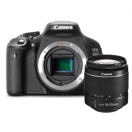 Canon EOS 600D kit 18-55 III DC (fara IS)