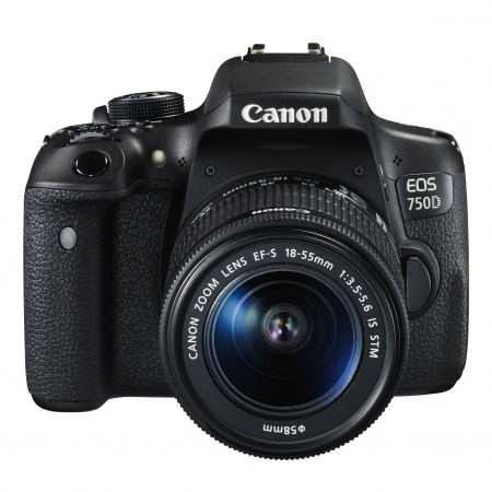 Canon EOS 750D kit EF-S 18-55mm f/3.5-5.6 IS STM