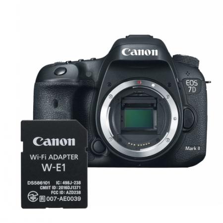 Canon EOS 7D Mark II body + adaptor Wi-Fi Canon W-E1 RS125034514