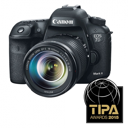 Canon EOS 7D Mark II kit cu 18-135mm f/3.5-5.6 IS STM