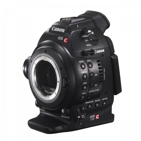 Canon EOS C100 DAF (Dual Pixel CMOS AF) - camera cinema profesionala