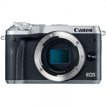 Canon EOS M6 body, argintiu