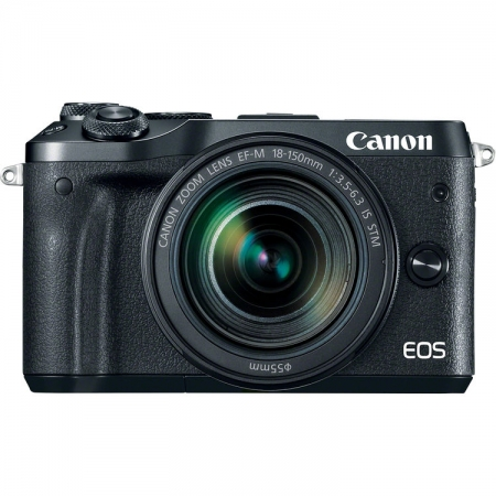 Canon EOS M6 negru Kit EF-M 18-150mm IS STM