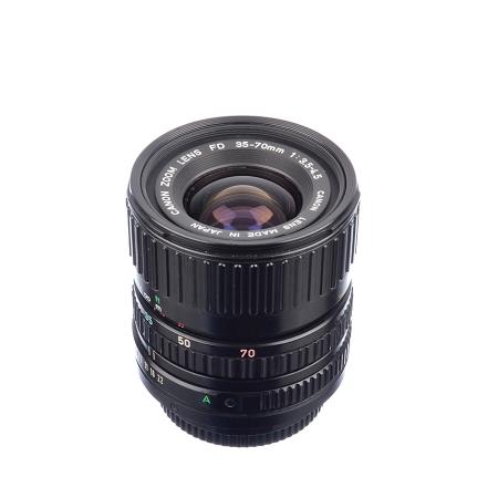 Canon FD 35-70mm f/3.5-4.5 - Montura FD + Sigma 70-210mm f/4-5.6 - Montura FD - SH125038364