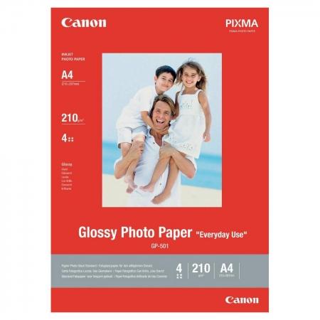 Canon GP-501 - hartie foto lucioasa A4 - 5 coli