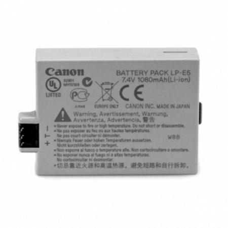 Canon LP-E5 - acumulator pentru Canon EOS 450D / 500D / 1000D, 1080mAh