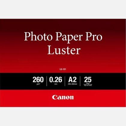 Canon LU-101 Photo Paper Pro Luster A2, 25coli