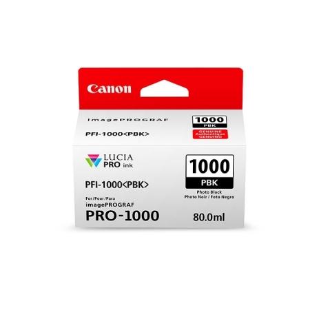 Canon PFI1000PBK (Photo Black) - cerneala pt. PRO-1000 ImagePrograf