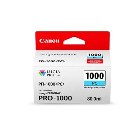 Canon PFI1000PC (Photo Cyan) - cerneala pt. PRO-1000 ImagePrograf