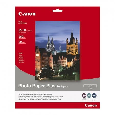 Canon Photo Paper Plus Semi-gloss SG-201 25x30cm - 20 coli
