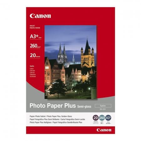 Canon Photo Paper Plus Semi-gloss SG-201 A3 - 20 coli