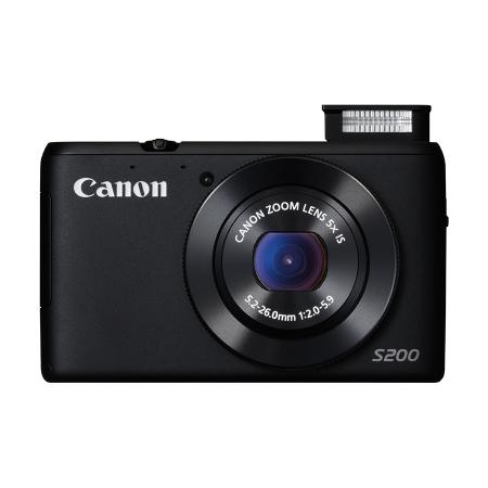 Canon PowerShot S200 Negru