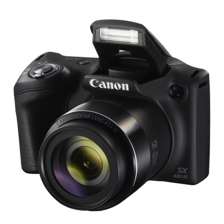 Canon PowerShot SX430 IS, negru