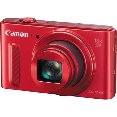 Canon PowerShot SX610 HS - Rosu