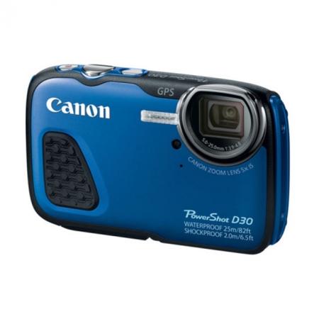 Canon Powershot D30 albastru - aparat foto subacvatic - RS125011994