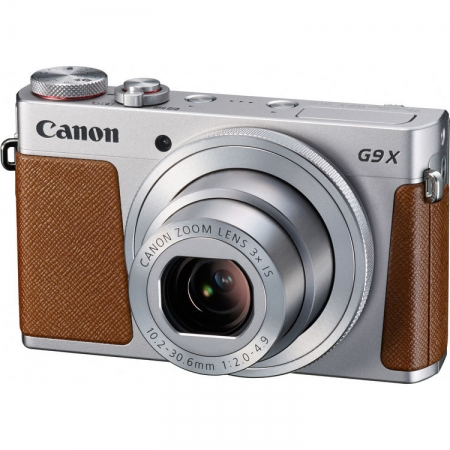Canon Powershot G9X - argintiu