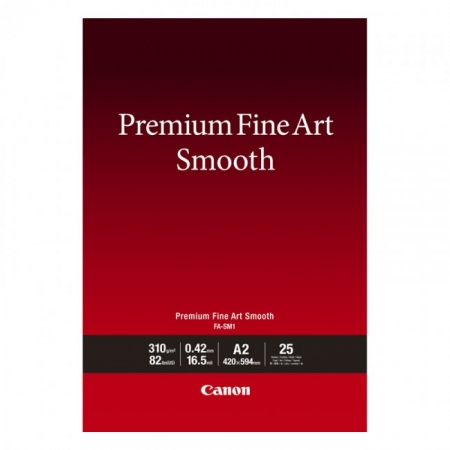 Canon Premium FineArt Smooth A2, 25 coli