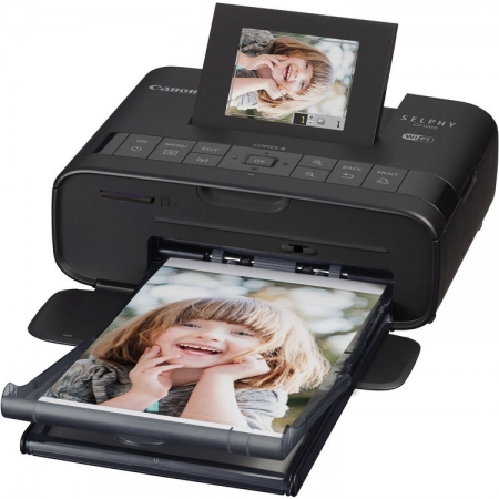 Canon Selphy CP-1200 Wi-Fi neagra imprimanta foto 10x15