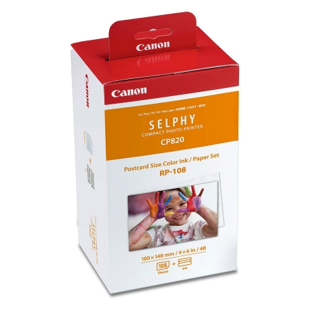 Canon Set hartie + toner Selphy RP-108 RS125018818-1