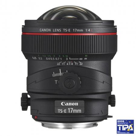 Canon TS-E 17mm f/4L (Tilt & Shift)