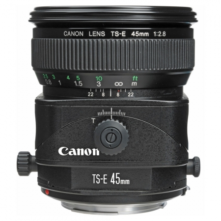 Canon TS-E 45mm f/2.8 (Tilt & Shift)