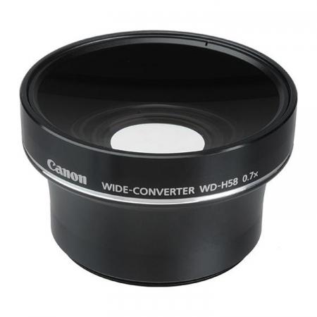 Canon WD-H58 - lentila wide pentru  HF S10 si HF S100